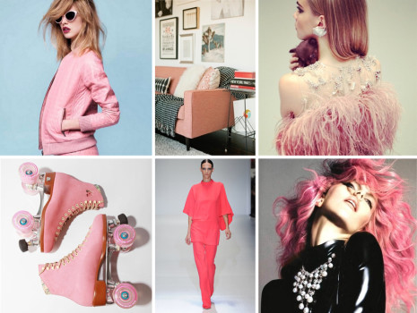 Pink trends for the spring-summer season 2013